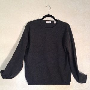 Lord & Taylor 2 ply Women's Cashmere Sweater XL